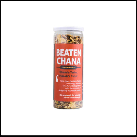 Beaten Chana - Protein Rich Jar (Pack of 4)