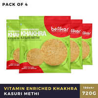 Kasuri Methi Khakhra  (Pack of 4 )