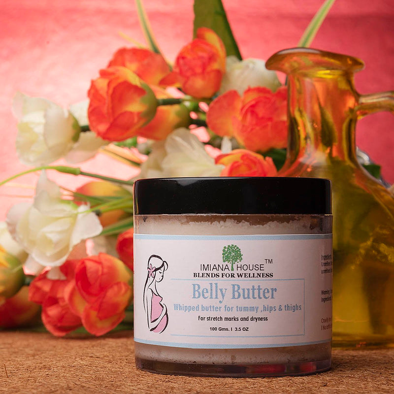 Belly Butter For Stretch Marks & Dryness