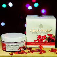 Natural Rose Nourishing Cream (For Soft And Smooth Skin And Remove Acne Marks)