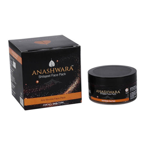Anashwara Shilajit Face Pack Removes Pigmentation Stretch Marks and Scars