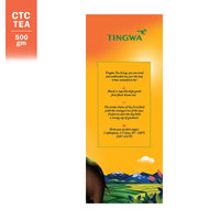 Tingwa Tea - BLACK, 500gm | Strong, Assam First-Flush CTC Tea