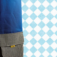 Blue Polka Dot Yoga Mat Bag