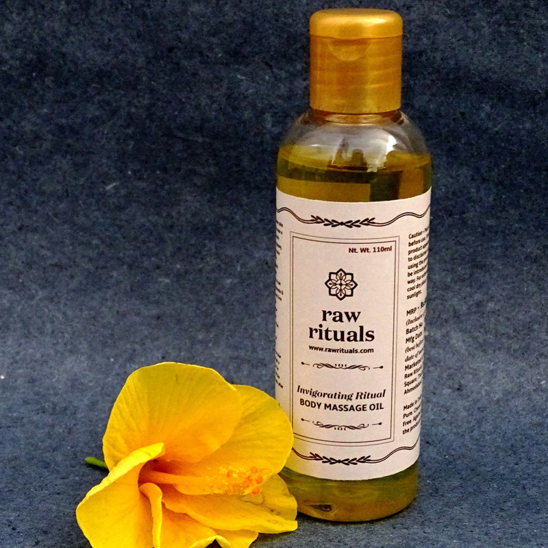 Chemical Free Invigorating Ritual - Body Massage Oil