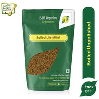 Boiled Little Millet
