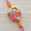 Bright Flower Bud Ethnic Rakhi (Boys)