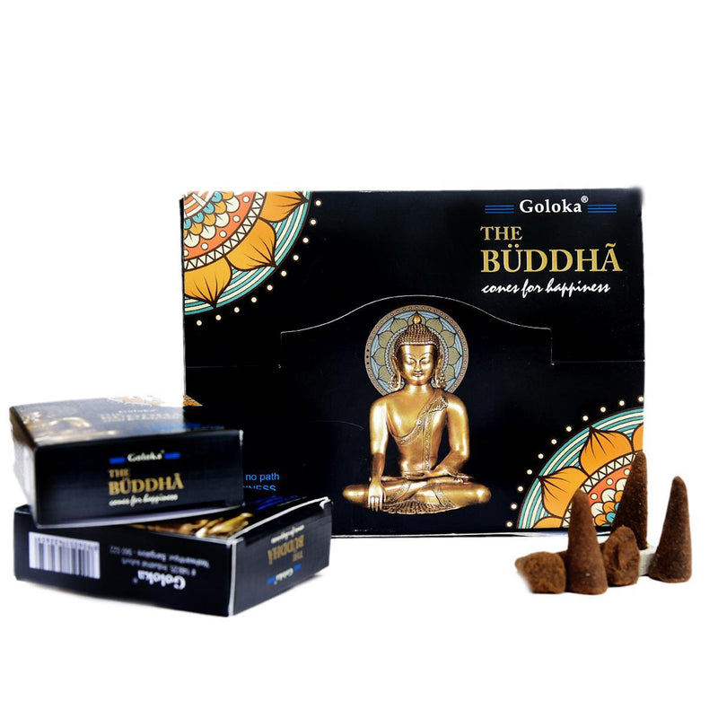 Buddha Dhoop Cones Pack Of 12 (10 Cones Each Pack)