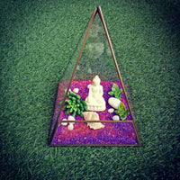 Buddha Terrarium Kit | Geometrical Terrarium Series | DIY Set