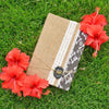 Lace and Print Book (Burlap Collection)
