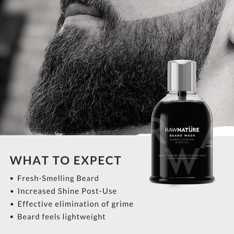 Beard Wash ,Beard oil Patchouli & Cinnamon Free
