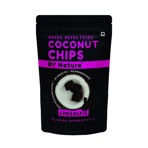 Coconut Chips (Chocolate) - Pack of 4