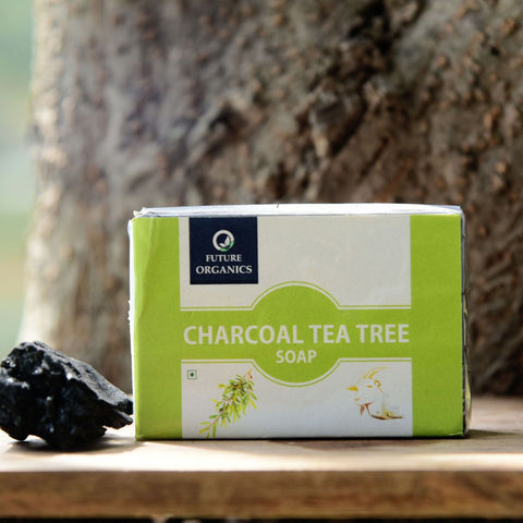 Charcoal Tea Tree Soap (Pack of 2)