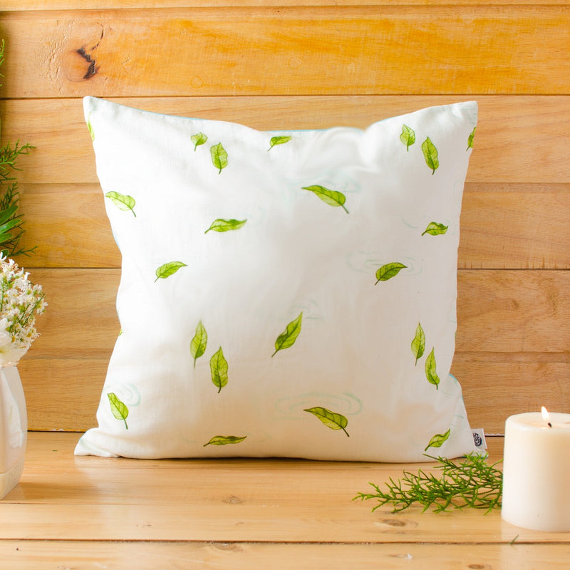 Falling Leaves Cushion Cover