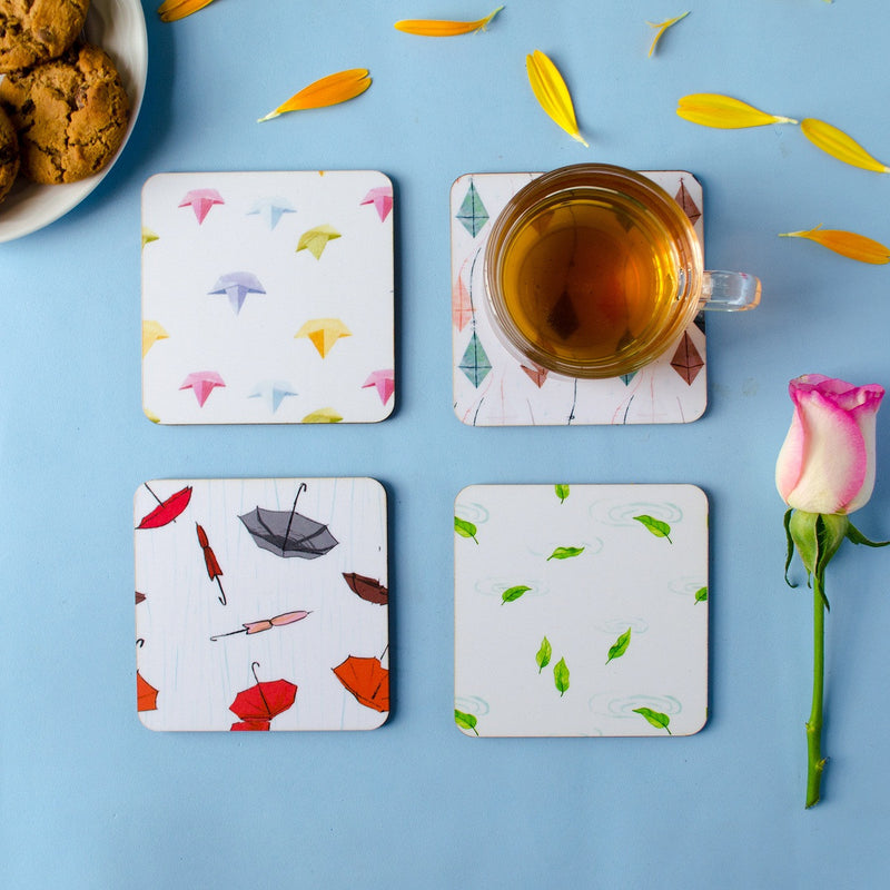 Monsoon Series Coasters (set of 4)