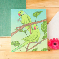 Paarkeet Stretched Canvas Wall Art