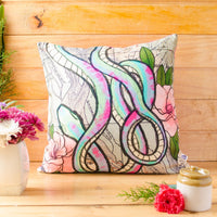Snakes World Cushion Cover