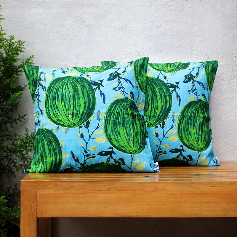 Cushion Cover Water Colour Melons