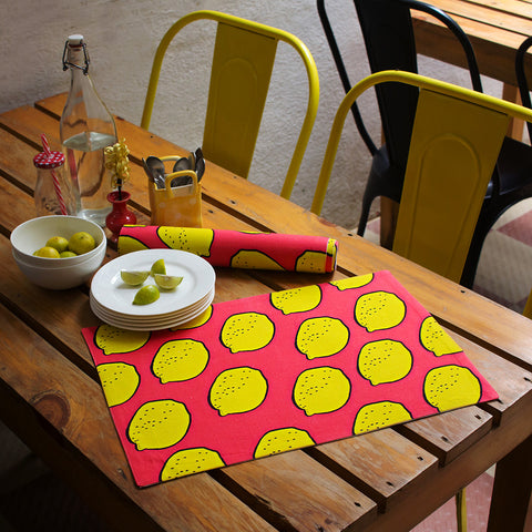Table Mats Full Lemons
