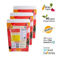 Carrot Crackers (Pack of 3)