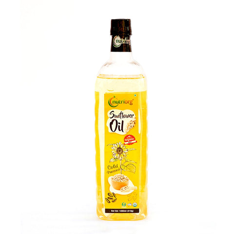 Certified Organic Cold Pressed Sunflower Oil