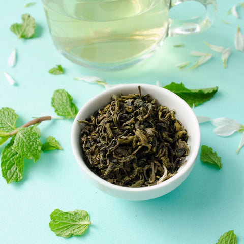 Himalyan Mint Green Tea