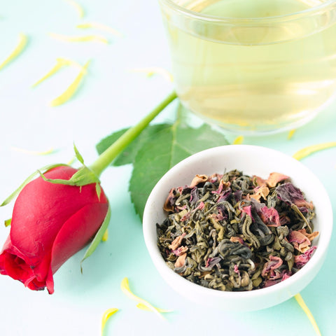 Himalyan Rose Green Tea