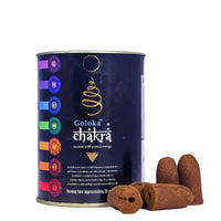 Chakra Backflow Incense Cone Pack Of 3(24 Cones Each Pack)
