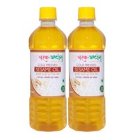 Cold Pressed Sesame Oil (Pack of 2)