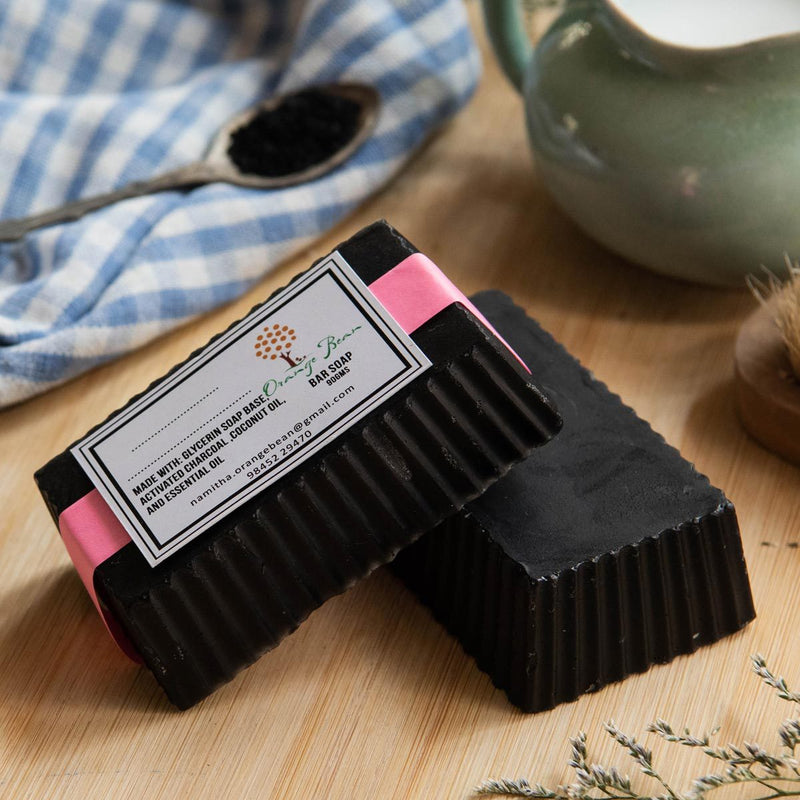 Charcoal Peppermint Soap- Set of two
