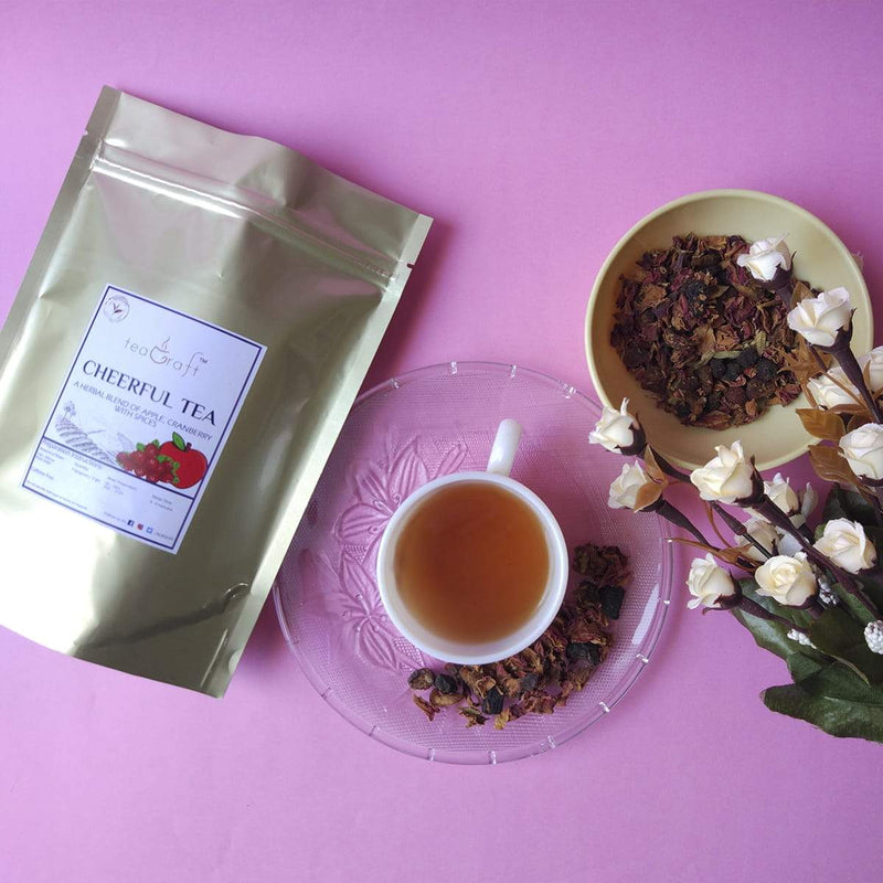 Cheerful Tea (Blend of Apple, Cranberry with Spices)