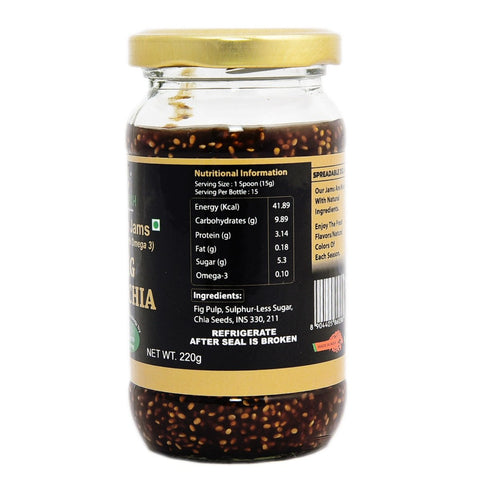 Chia Fig Jam  (Pack of 2)