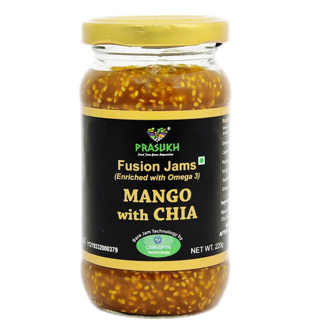 Chia Mango Jam (Pack of 2)