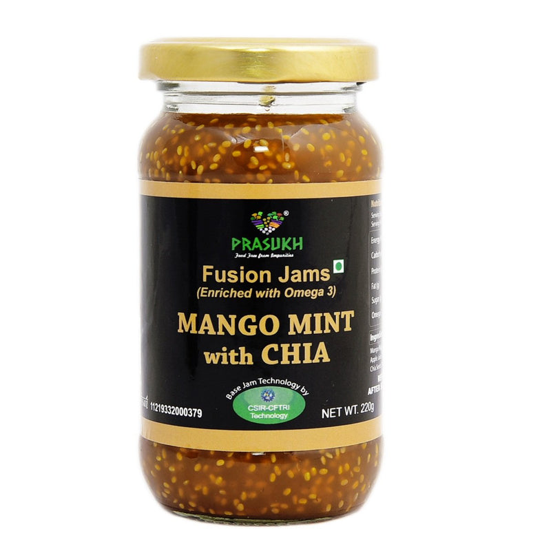 Chia Mango Mint Jam (Pack of 2)