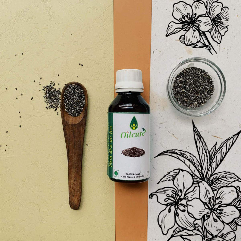 Chia Seed Oil Cold Pressed