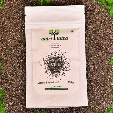 All Natural Chia Seeds(Pack of 2)