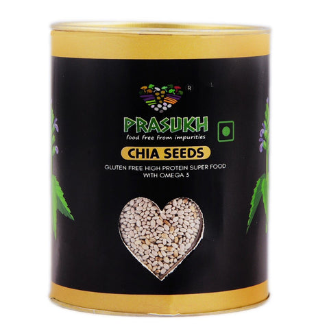 Chia Seeds White(Pack of 2)