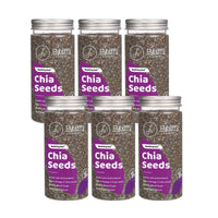 Chia Seeds - Pack of 6, 6 x 150 g