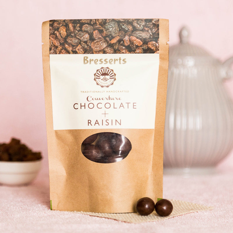 Handcrafted Couverture Raisin Chocolate