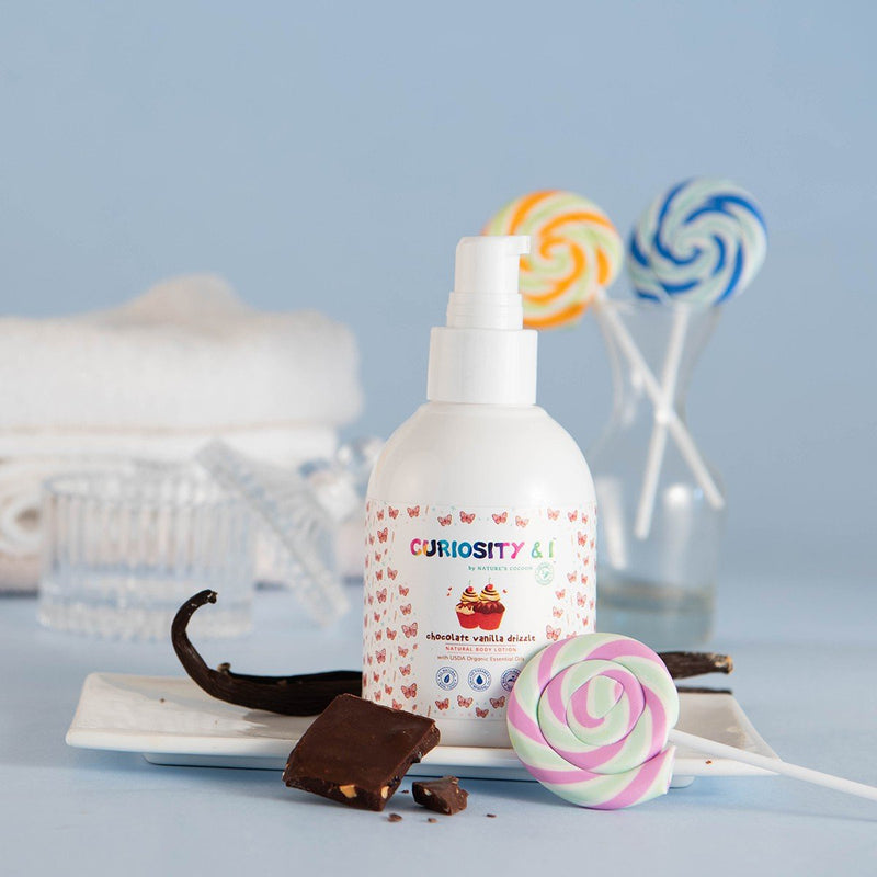 Chocolate Vanilla Drizzle Body Lotion