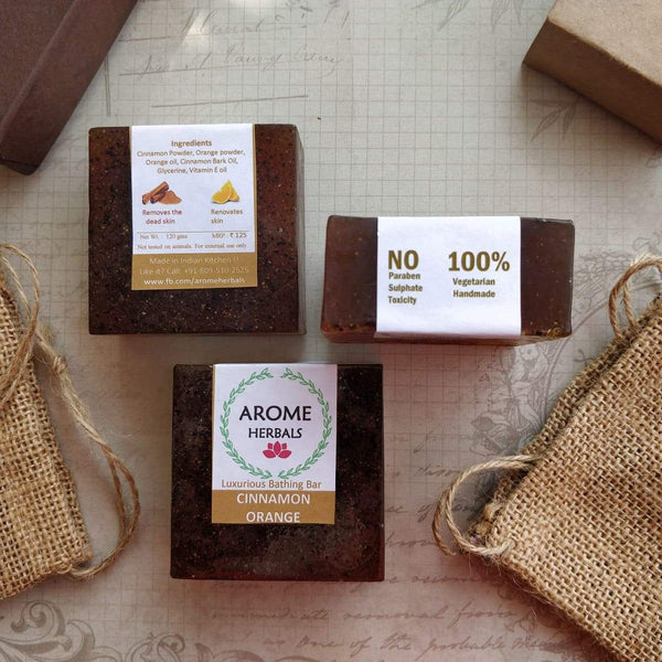 Cinnamon Orange Soap (Pack of 2) at Qtrove