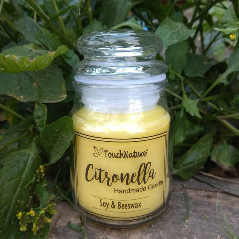 Citronella Soy Beeswax Jar Candle