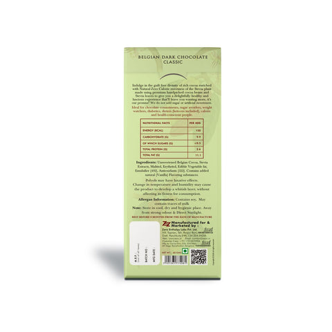 Classic Stevia Chocolate (Pack of 2)