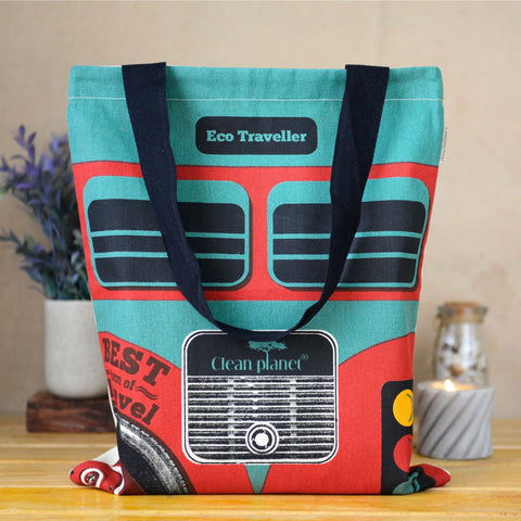 Best Bus Eco Traveller Tote Bag