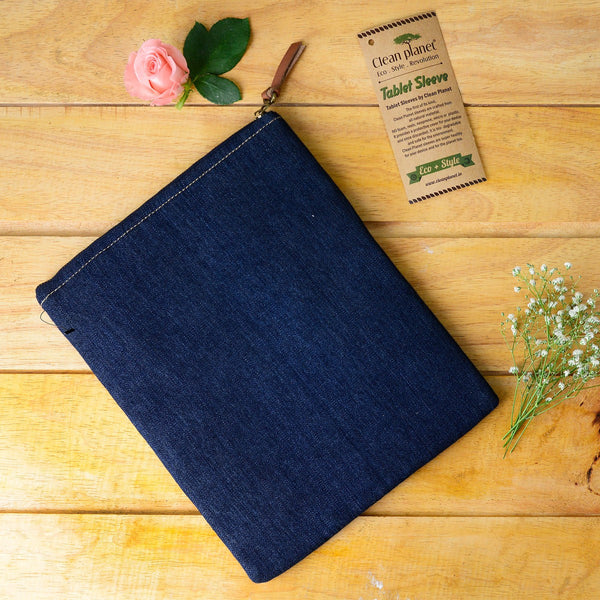 Denim Classic - Back Pocket Planet Friendly Tablet Sleeve at Qtrove