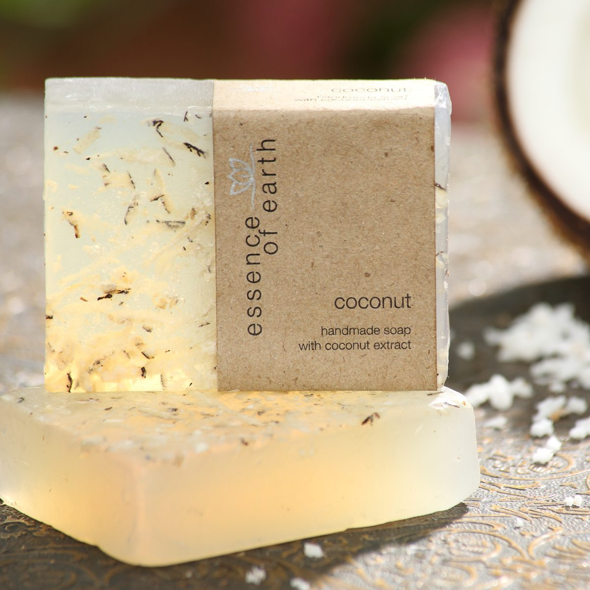 Coconut Handmade Soap (Coconut Extract)