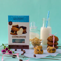 Frozen Cookie Dough - Whole Wheat Banana Oatmeal Chocolate Chunk (Pack of 2)