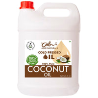 Cold Pressed Coconut Oil - 100% Pure and Natural