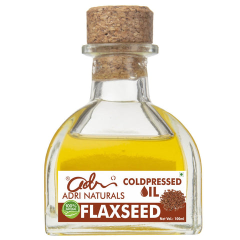 Cold Pressed Flaxseed Oil (100% Pure & Natural)