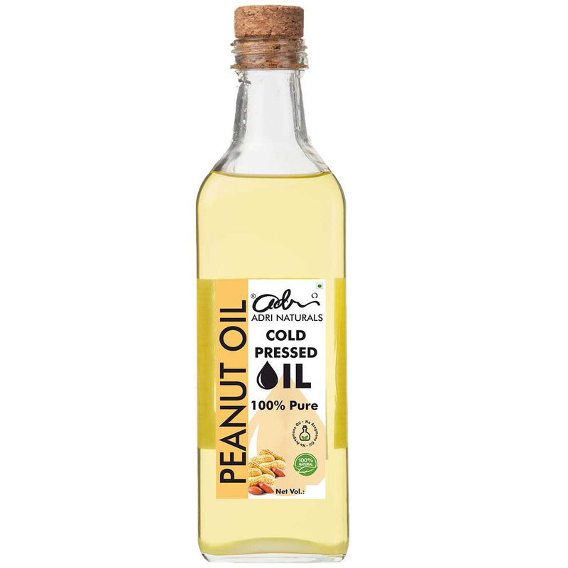 Cold Pressed Peanut Oil, 100% Pure and Natural (Groundnut Oil)