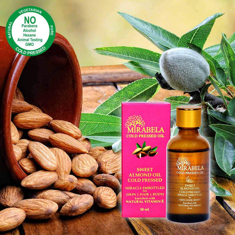 Cold Pressed Sweet Almond Oil (50ml)